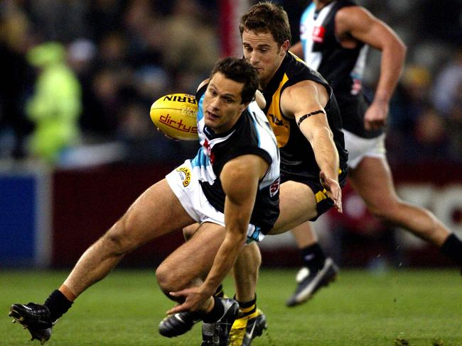 Gavin Wanganeen in 2003, when he nearly snagged another Brownlow.