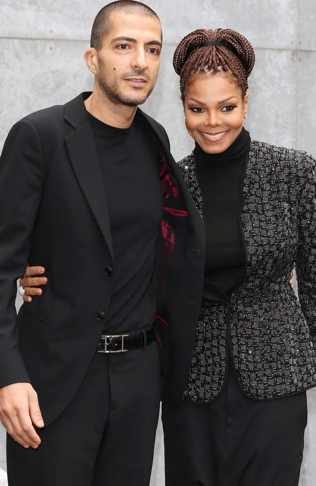 Janet Jackson and husband Wissam Al Mana have called it quits. Picture: Vittorio Zunino Celotto/Getty Images