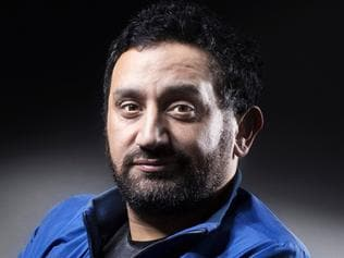 (FILES) This file photo taken on June 08, 2016 shows French TV host and producer Cyril Hanouna posing for a portrait in Paris A sequence deemed homophobic by the LGBT associations in Cyril Hanouna's broadcast last week sparked an absolute record of complaints to the CSA, the regulator of the audiovisual sector, on May 22, 2017, registering more than 20,000 complaints by the afternoon. / AFP PHOTO / JOEL SAGET