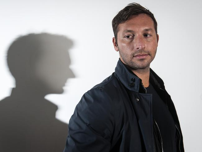 Australian swimming champion Ian Thorpe.