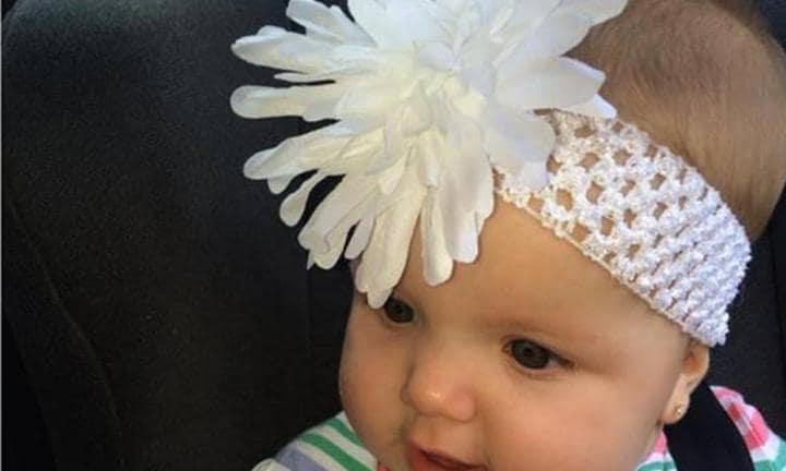 Beware the baby headband!