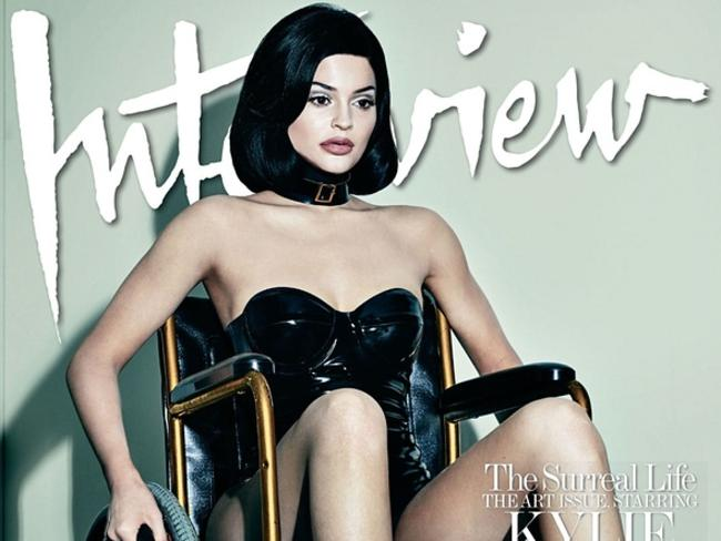 Kylie Jenner's Interview Magazine cover caused a stir. Picture: Interview
