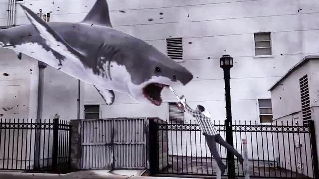 Sharknado: as if ripped from today's headlines.
