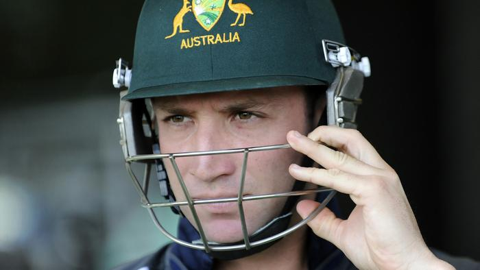 Australian cricketer Phillip Hughes who died on the pitch in 2014.