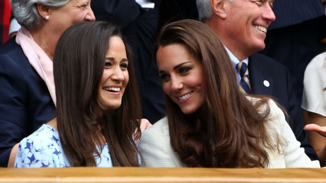 Pippa and Kate. Photo: Getty
