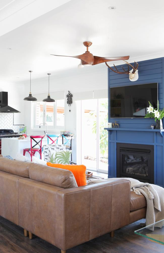 House rules reno reveal ben and danielle get their dream home for Living room channel 7