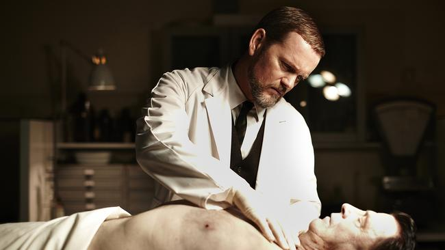Perfect fit ... Craig McLachlan in TV show The Doctor Blake Mysteries. Picture: Supplied.