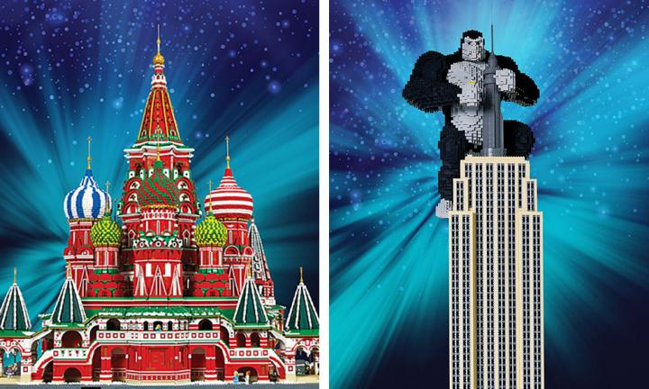 Melbourne's new LEGO exhibition 'Wonders of the world' is off the chain