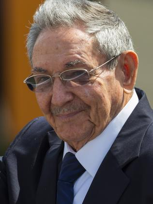 Cuba's President Raul Castro has worked to restore diplomatic ties with the United States. Picture: AP Photo/Desmond Boylan