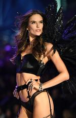 Alessandra Ambrosio walks the runway during the 2016 Victoria's Secret Fashion Show on November 30, 2016 in Paris, France. Picture: AFP