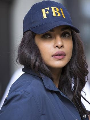 Priyanka Copra in Quantico. Picture: Supplied by Channel Seven
