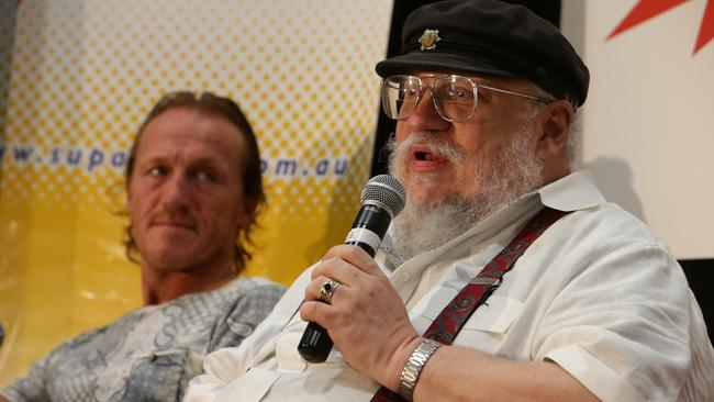 George R.R. Martin, killing your faves. Picture: Peter Wallis