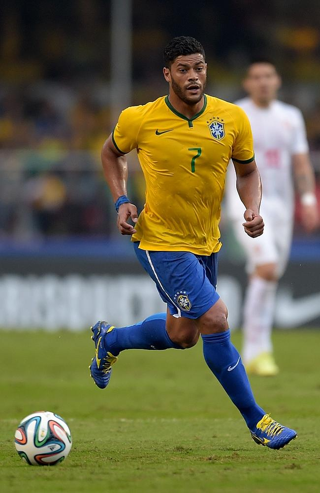 Givanildo Vieira de Souza is also known as 'Hulk' is from Brazil.