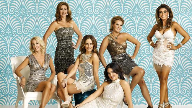 Moving on ... Andrea Moss, second left, won't be returning to The Real Housewives of Melbourne for season two. Picture: Supplied