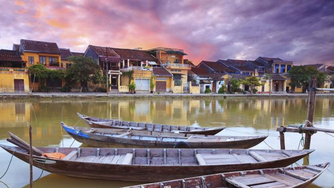 Old town in historic Hoi An, Vietnam. Picture: Thinkstock
