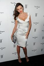 <p>Model Miranda Kerr arrives at W Magazine's 69th Annual Golden Globes Award Celebration at the Chateau Marmont on January 13, 2012 in Los Angeles, California. (Photo by Michael Buckner/Getty Images)</p>