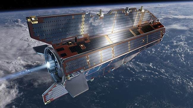 Heads up! Picture: European Space Agency