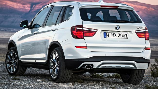 The X3 is missing some tech that is available on rivals. Pic: Supplied.
