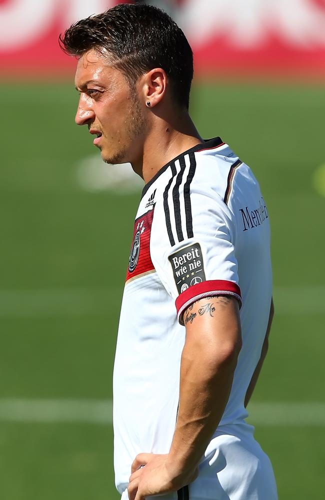 Mesut Ozil is one of the World Cup's most talented players.