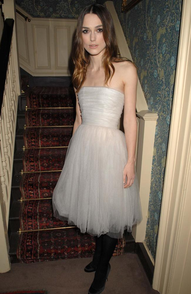Unlike most brides, Keira Knightley has certainly got some wear out of her wedding dress.