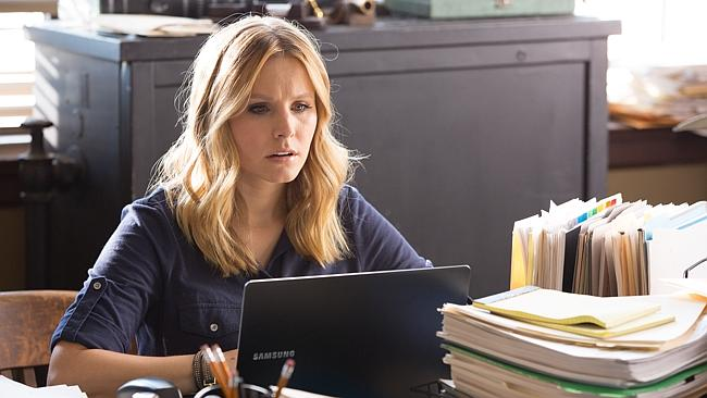 Kristen Bell in a scene from the film, Veronica Mars.