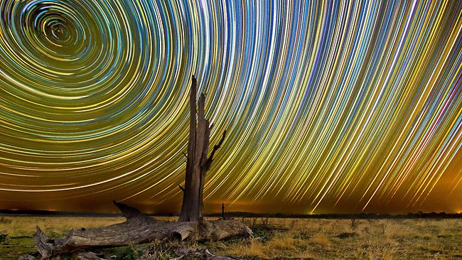 Lincoln Harrison star trails