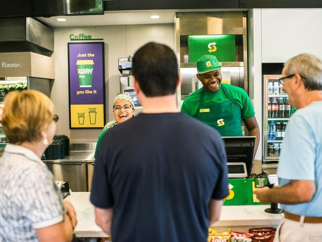 Subway's 1440 Aussie stores are undergoing a reno.