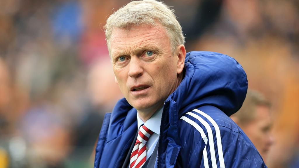 Sunderland's Scottish manager David Moyes.