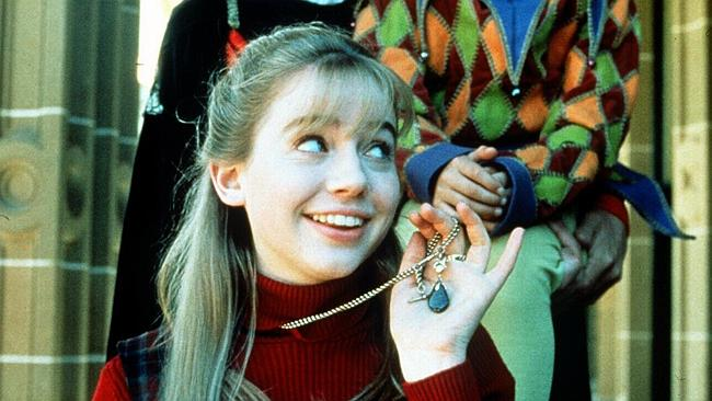 Penelope (Alexandra Milman) in scene from The Genie From Down Under.