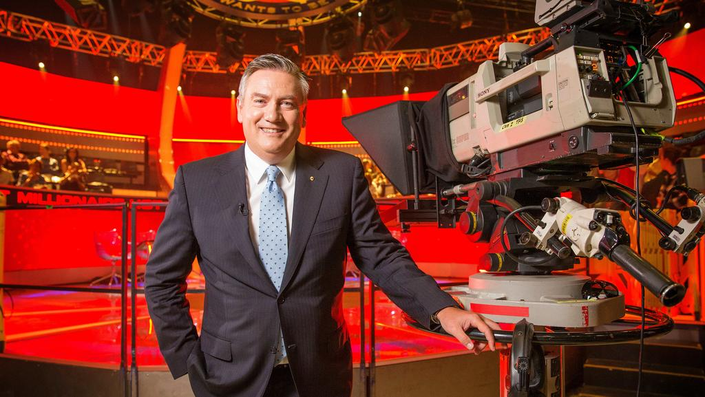 Eddie McGuire's Hot Seat is struggling in the ratings. Picture: Mark Stewart