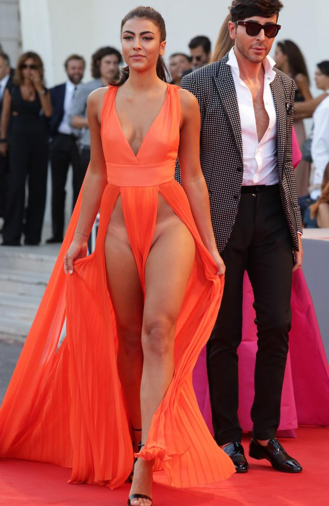 Italian Models Giulia Salemi And Dayane Mello Bare All At