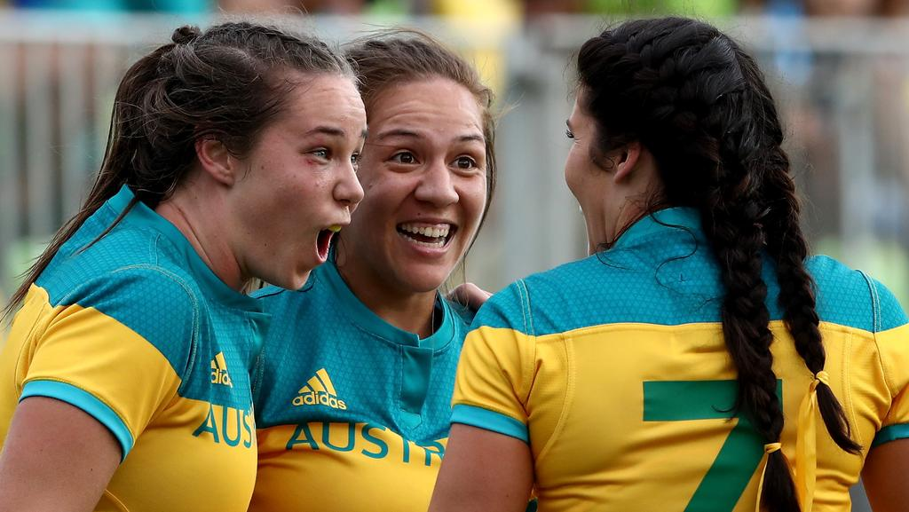 Australia has won gold in the women's rugby sevens.