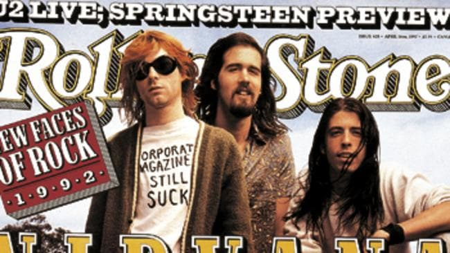 Rolling Stone's famous Nirvana cover.