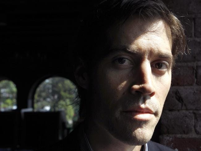 Shocking ... American journalist James Foley was abducted by ISIS militants in 2012 and beheaded this week. Picture: AP