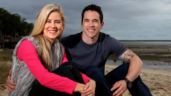 Michael and Carlene, the QLD couple from The Block, in Cairns. Picture: Stewart McLean