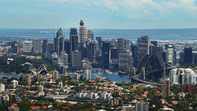 Sydney was ranked number five on the Economist Intelligence Unit's Best Cities Index.