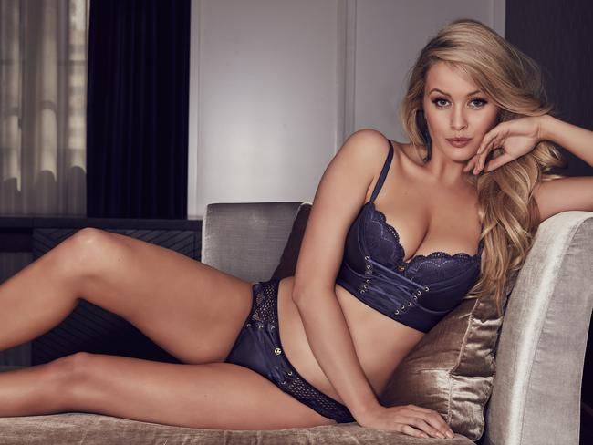 The 24-year-old has slowly grown her career as a model. Picture: Supplied/Bras N Things
