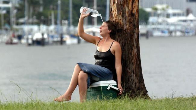 It's no easy feat escaping a heatwave in Brisbane.