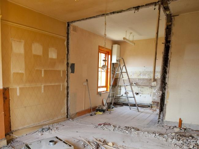 Property prices spark renovation craze
