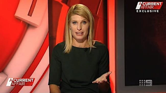 ACA reporter Alison Piotrowski says Burke commented on her 'great arse' when they worked together at 2UE.