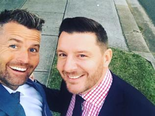 Pete Evans and Manu Feildel back to filming MKR. Source: Instagram.