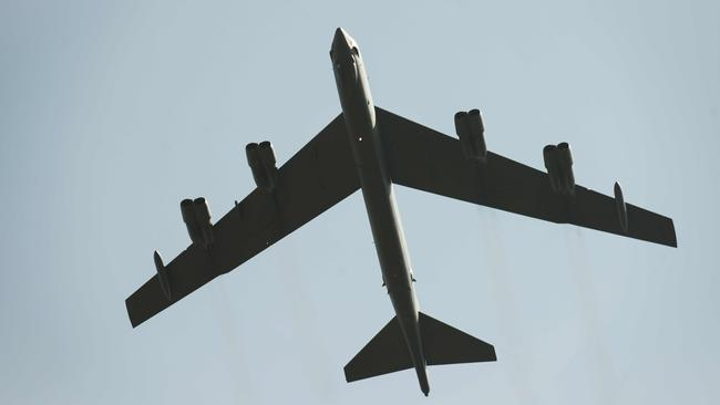 The iconic B-52s have been in service for more than 50 years. / AFP PHOTO / Elliott VERDIER