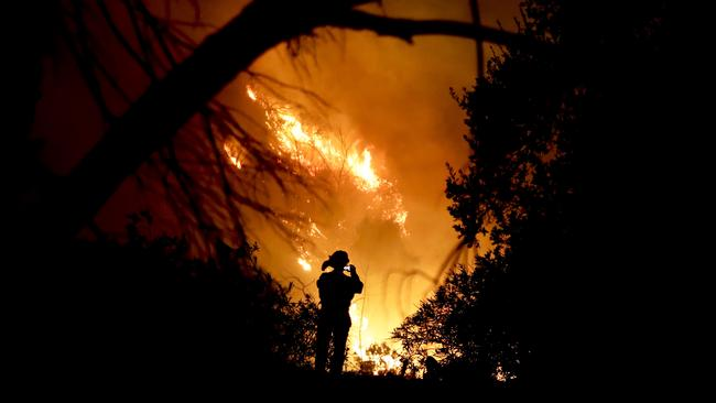 California wildfire now third worst in state's history