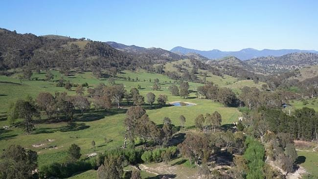 WHO needs city lights when you can gaze over your own private valley in Tuggeranong. Picture: Supplied realestate.com.au