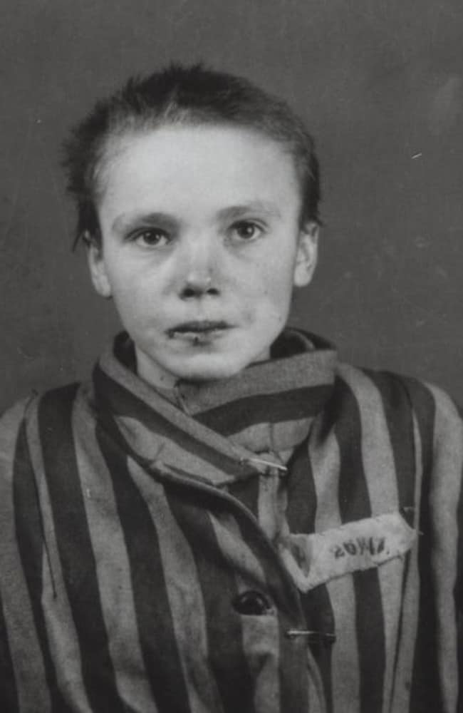 Czesława Kwok was a 14-year-old Catholic girl deported to Auschwitz with her mother as part of the Nazis' secret extermination of the Polish intelligentsia.