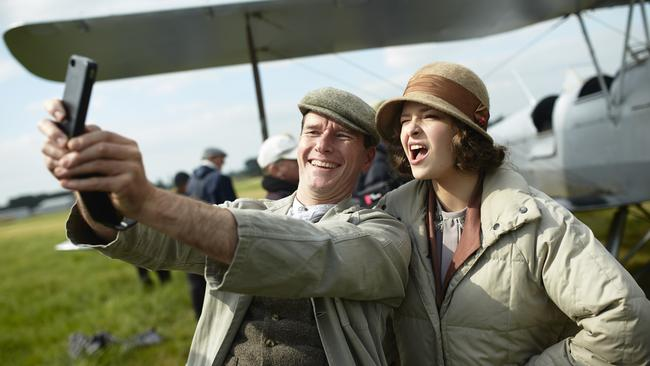 Next gen ... it's entirely possible the selfie had yet to be invented in Miss Fisher's day.