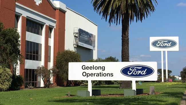The Ford engine factory in Geelong built its last engine on 26 September 2016 ahead of the Broadmeadows car assembly line closure on October 7. Picture: Joshua Dowling.