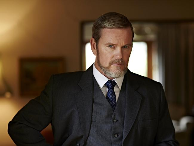 Craig McLachlan as Lucien Blake in the  <i>Doctor Blake Mysteries</i>, is one of Australia's most popular actors. Picture: Supplied/Seven.