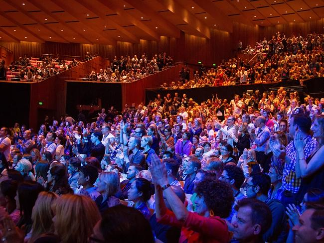 The audience at TEDx Sydney last year.