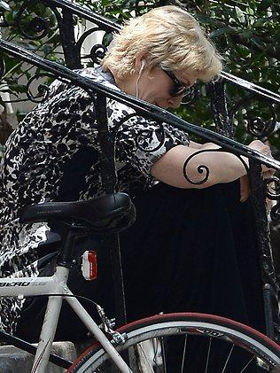 Jane Lynch looks to be mourning the death of Cory Monteith on her 53rd birthday in the SoHo neighborhood of Manhattan.  <p>Pictured: Jane Lynch</p>  <p><b>Ref: SPL577491 140713 </b><br />Picture by: Doug Meszler / Splash News<br /></p>  <p><b>Splash News and Pictures</b><br />Los Angeles:310-821-2666<br />New York:212-619-2666<br />London:870-934-2666<br />photodesk@splashnews.com<br /></p>